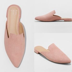 Dusty Pink Loafers NWT